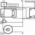 Схема підключення електронного блоку управління